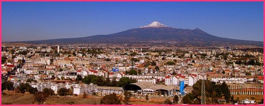 Puebla from a distance