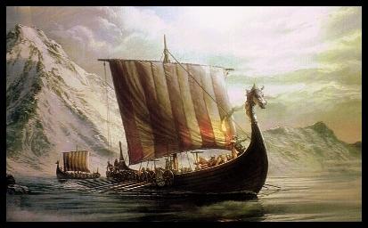 Viking vessel